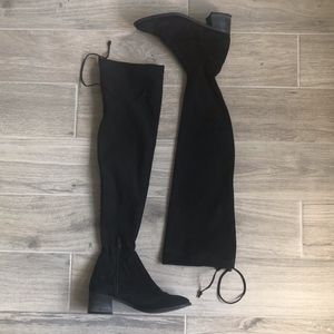 Free People Thigh High Suede Boot